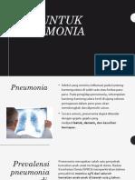 Gizi Untuk Pneumonia