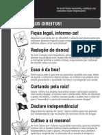 Cultiva Teus Direitos - Cartilha GROWROOM.net - Versão preto-e-branco