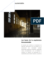 Arquitectura biosustentable_