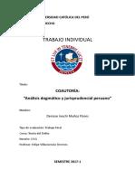Coautoría Analisis Dogmatico y Jurisprudencial Peruano