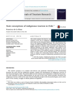 F. de La Maza State Conceptions of Indigenous Tourism in Chile