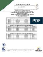 Calendario y Reglamento Departamental Superate 2017