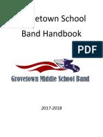 gtms band handbook