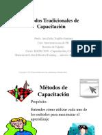 Lección 7 - Módulo 3 - Métodos Tradicionales de Capacitación