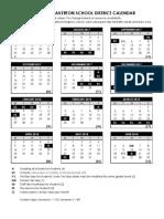 2017-2018 Beaverton Calendar