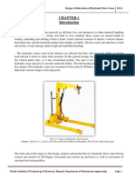 Design and Fabrication of Hydraulic Floo