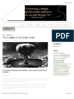 The Dilemma of the Atomic Bomb