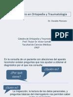 El Interrogatorio en Ortopedia 1