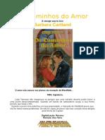Barbara Cartland - Os Caminhos Do Amor (Coleção BC 395)