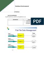 Database Environment
