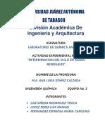 Quimica Analitica Práctica No 3
