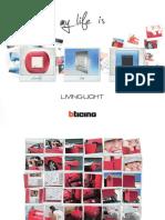 Brochure Interruptores Mecanismos Domotica LIVINGLIHT 2012 Bticino