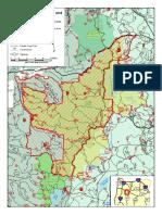 Three Sisters Wilderness Closure Map Public