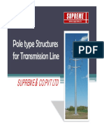 Pole Line Structure
