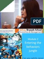 Marketing the CMO Agenda JPB Module2 Entering the Behaviors- Jungle Jan 2017