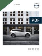Volvo XC60 Pricelist