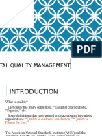 Quality Management Main PPT