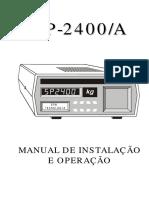 SP 2400A - User