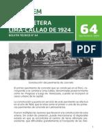 Boletin 64 La Carretera Lima Callao