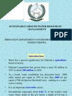 Ground water Management in Pakistan