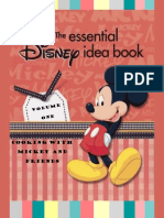 Craft Book Vol. 1, Cooking With Mickey and Friends
