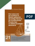 UNA NUEVA CARA DE LA JUSTICIA EN MEXICO_ APLICACION DEL CODIGO NACIONAL DE PROCEDIMIENTOS PENALES BAJO UN SISTEMA ACUSATORIO ADVERSARIAL.pdf