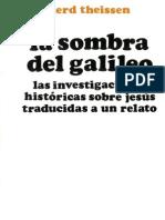 Theissen Gerd La Sombra Del Galileo