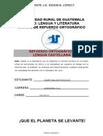 Cuaderno de Trabajo e Información Ortógráfica Ururalg Unidad II
