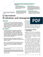 Concussion- Evaluation and Management