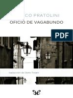 Pratolini, Vasco - Oficio de Vagabundo [29464] (r1.0)