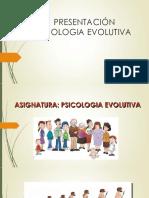 Presentación p. Evolutiva