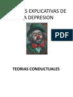 Teorias Explicativas de La Depresion