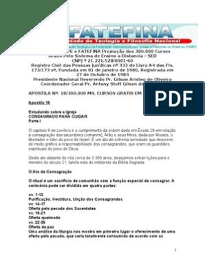 IGREJA PRIMITIVA BAIXAR ROBSON NASCIMENTO RUMO CD A