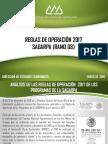 Reglas de Operación SAGARPA 2017