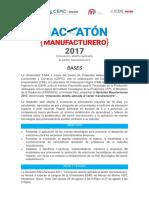 Hackaton Manufacturera 2017 - Bases