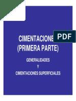 Infu-cimentaciones (Generalidades y Superficiales) [Modo de Compatibilidad]
