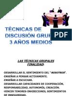 Técnicas de Discusion Grupal