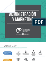 Administracion y Marketing
