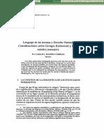 Lenguaje de las Normas y Derecho Natural.pdf
