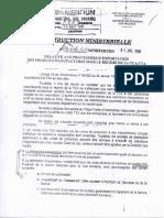 Instruction Ministérielle 106-CF-MINEFI-DI-DD Du 31 Juillet 1998 Relative Aux Procédures d'Exportation Des Produits Manufacturés Sous Le Régime de La TCA-TVA009