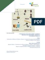 Rubrica de Evaluación Propiedades Extensivas e Intensivas de La Materia
