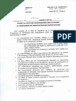 Marchandises Non Soumises à La Vérification Sgs006