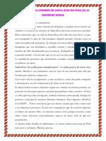 Discurso de Santa Rosa de Lima