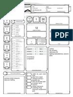DnD 5E CharacterSheet - Golbez