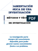 Tecnica de investigacion