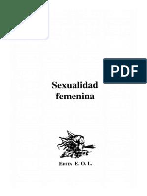 la sexualidad femenina pdf