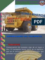 Sistema de Transporte Minero Ppt