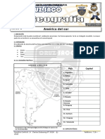 Geografia - 5to Año - IV Bimestre - 2014