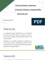 Clase 1 Derecho Mercantil - ULS 29JULIO2017