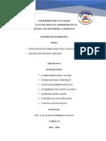 Grupo 9 Estrategias de Mercadeo y Proyeccion de Rentabilidad